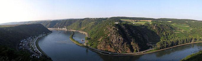 Скала Лорелей на Рейне