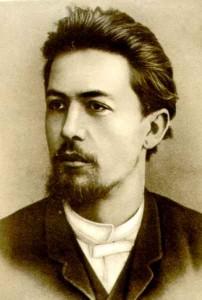 Портрет Антона Чехова работы Н. П. Чехова
